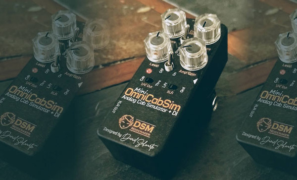 DSM Noisemaker Announces the OmniCabSim Mini Pedal