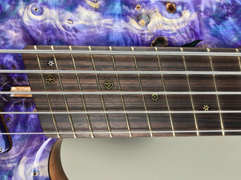 DTC Bass Guitars 5-String Multiscale Singlecut Bass Final Frets