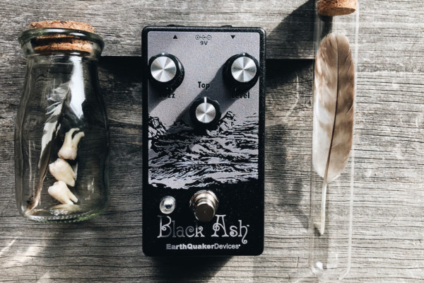 Earthquaker Devices Unveils the Black Ash Endangered Fuzz Pedal