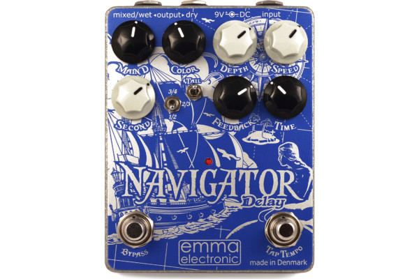 Godlyke Announces the EMMA Electronic Navigator Delay Pedal