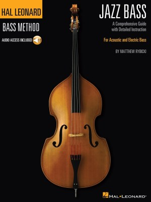 Hal Leonard Jazz Bass Method Book