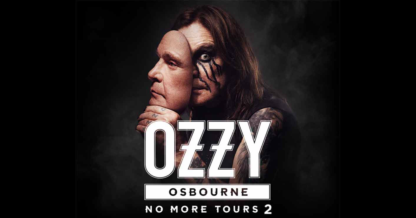 """Ozzy Osbourne """"No More Tours 2"""" Poster"""