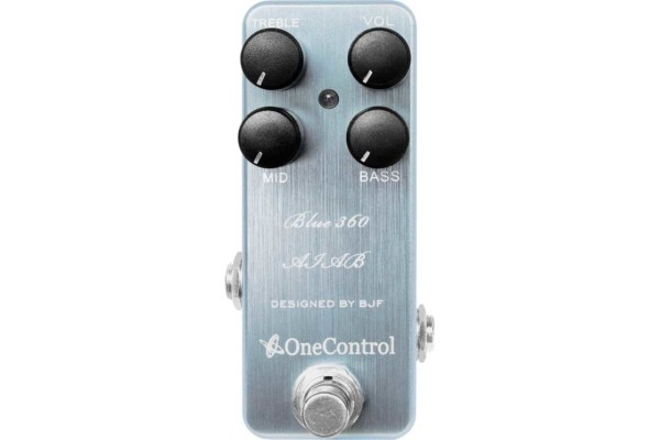 One Control Introduces the Blue 360 Bass Preamp Pedal