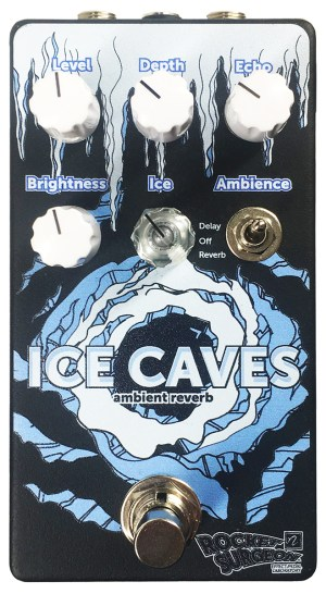 Rocket Surgeon Ice Caves Reverb Pedal