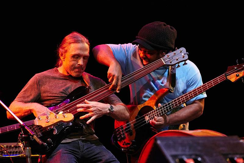 Steve Bailey and Victor Wooten
