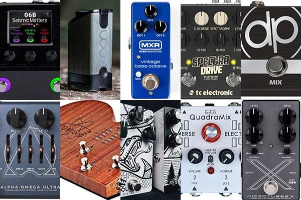 Best of 2018: The Top 10 Reader Favorite Bass Pedals & Effects