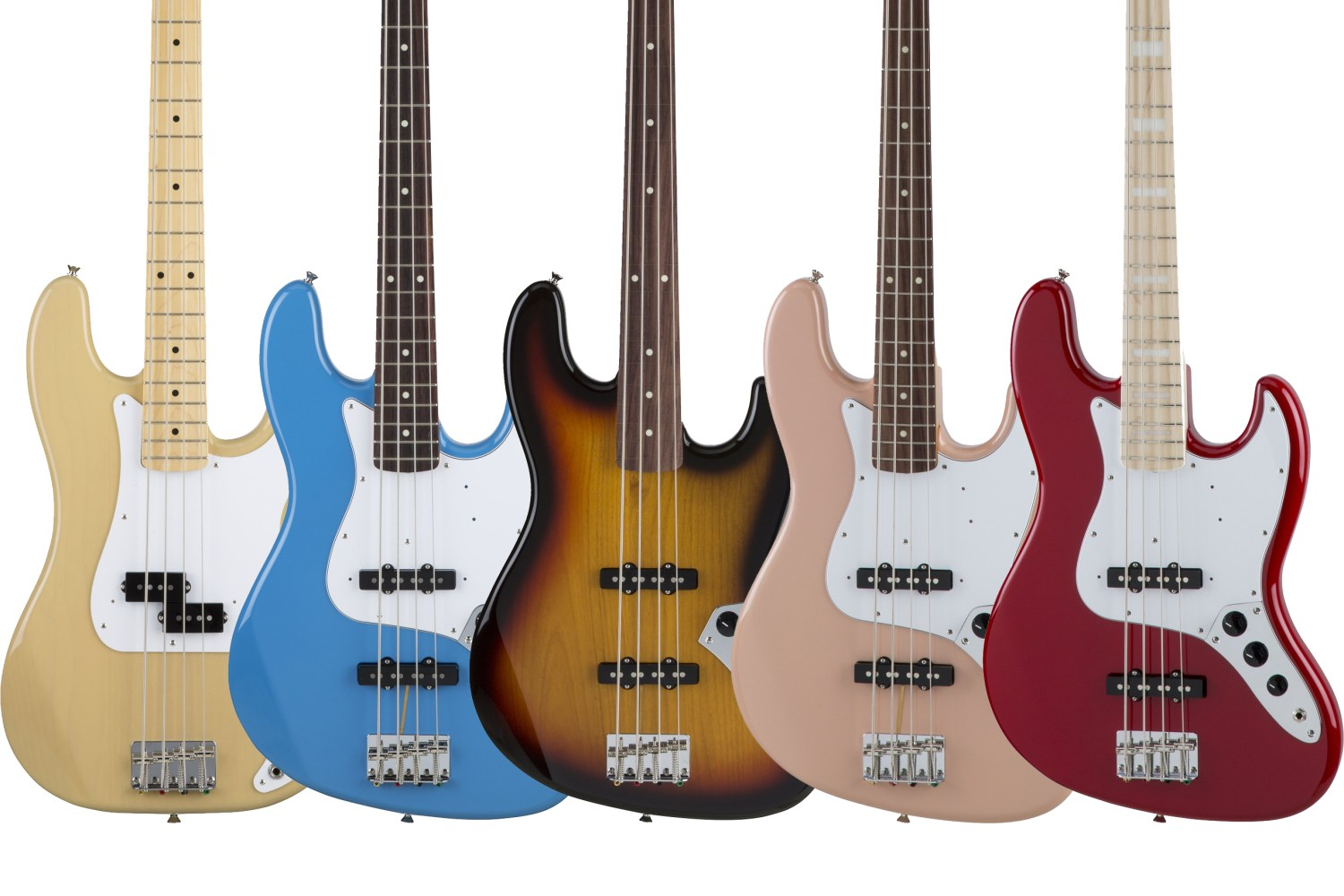 Fender Limited Edition Made In Japan Basses