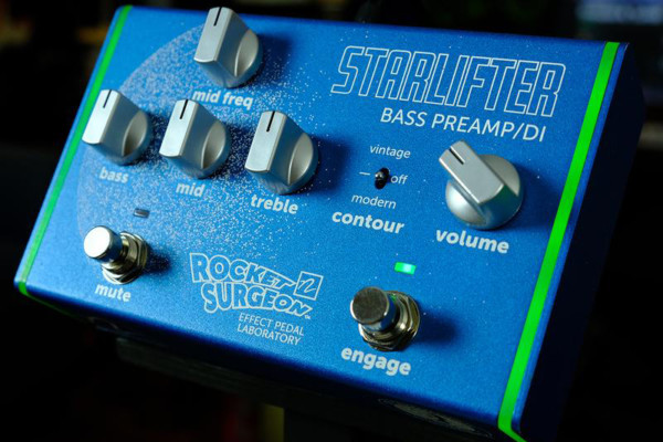 Rocket Surgeon Pedals Announces the StarLifter Bass Preamp/DI