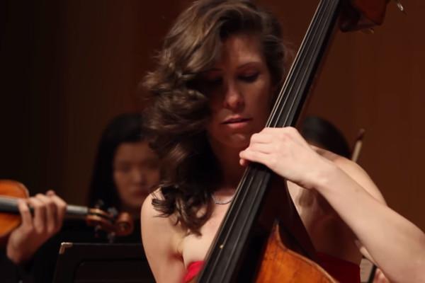 Lauren Pierce: Zigeunerweisen for Double Bass Solo and String Orchestra