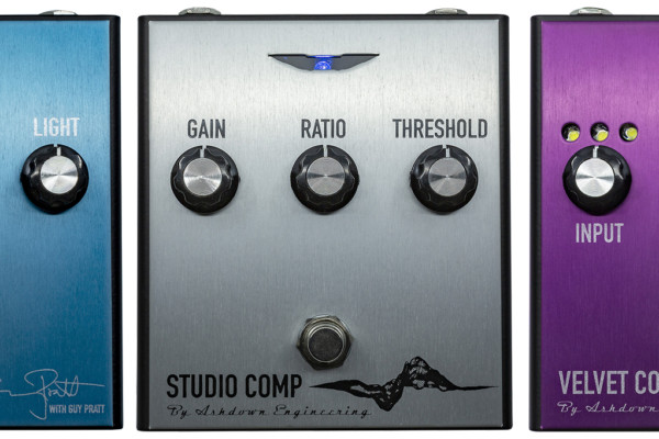 Ashdown Announces PRO FX Bass Pedal Series