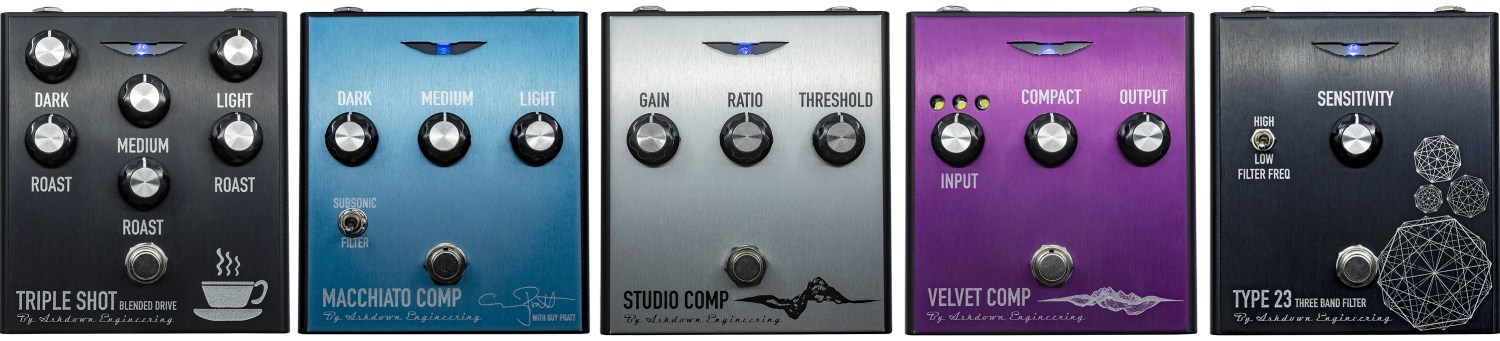 Ashdown PRO FX Bass Pedal Series