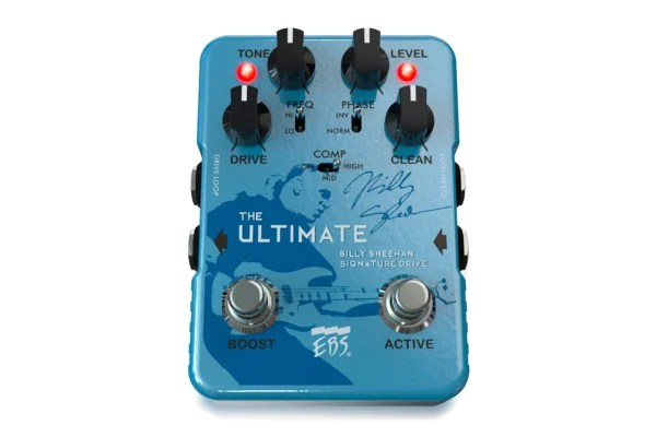 EBS Unveils the Billy Sheehan Ultimate Signature Drive Pedal