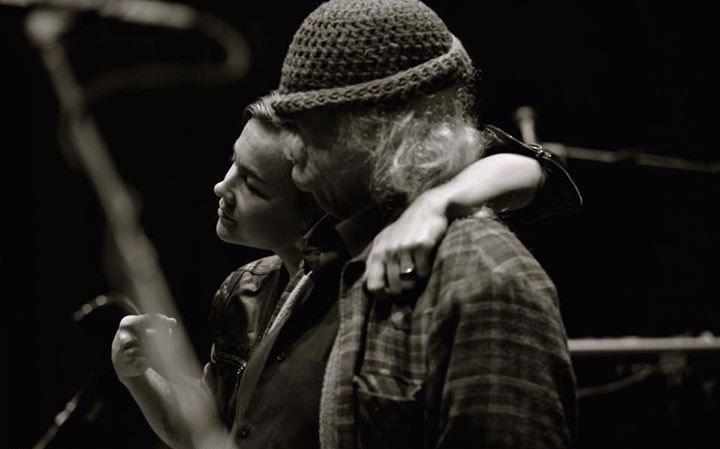 Mai Leisz with David Crosby