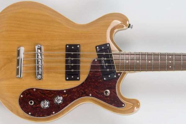 Eastwood Guitars Unveils The Vintage-Inspired Sidejack Pro JM Bass