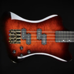 Hughes Guitars Announces the Dave Fowler Signature Bass Mini Thunderbird
