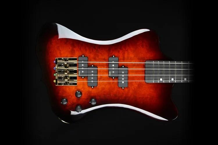 Hughes Guitars Dave Fowler Signature Bass Mini Thunderbird Body