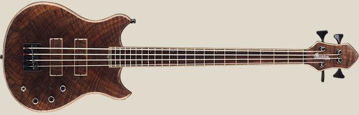 Marceau Guitars Thirty Bass Walnut Front
