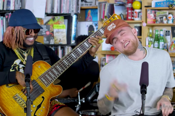 Mac Miller with Thundercat: NPR Music Tiny Desk Concert