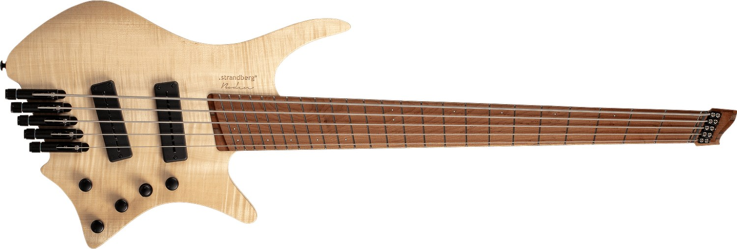 Strandberg Guitars Boden Bass Natural 5