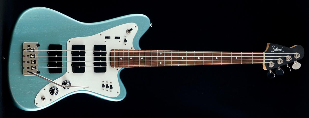 Deimel Guitarworks Firestar Bass Laguna Bay