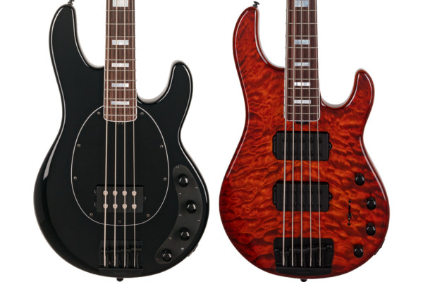 Ernie Ball Music Man Introduces Two New Limited Edition Basses