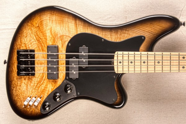 LEH Guitars Launches the Offset 4-String Bass