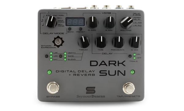 Seymour Duncan Introduces the Dark Sun Pedal