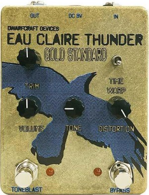 Dwarfcraft Devices Gold Standard Eau Claire Thunder Pedal