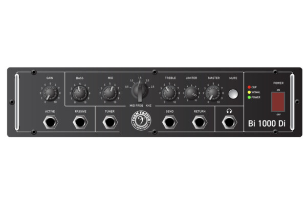 Form Factor Audio Previews the Bi1000Di Bass Amp