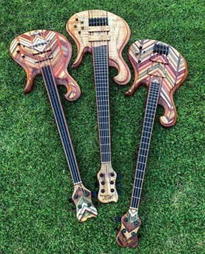 Hilton Guitars Bass Trio