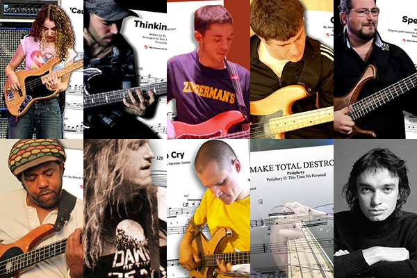 NT10: Top 10 Bass Transcriptions