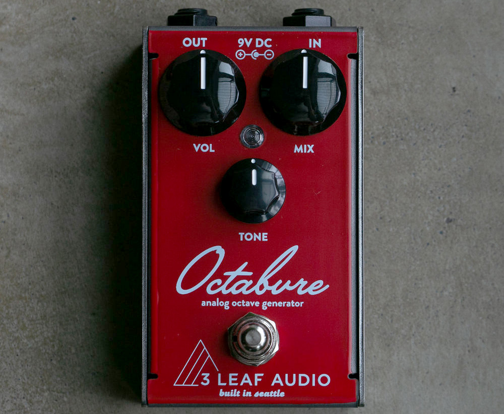 3Leaf Audio Octabvre Mini Octave Pedal