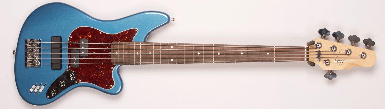 L.e.H. Guitars Offset Bass 5