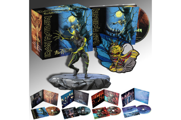 Third Set of Iron Maiden Studio Collection Reissues Now Available