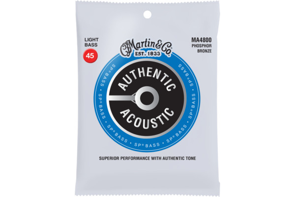 Martin Guitars Revamps Authentic Acoustic Bass Strings