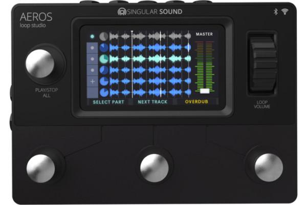 Singular Sound Announces the Aeros Loop Studio Pedal