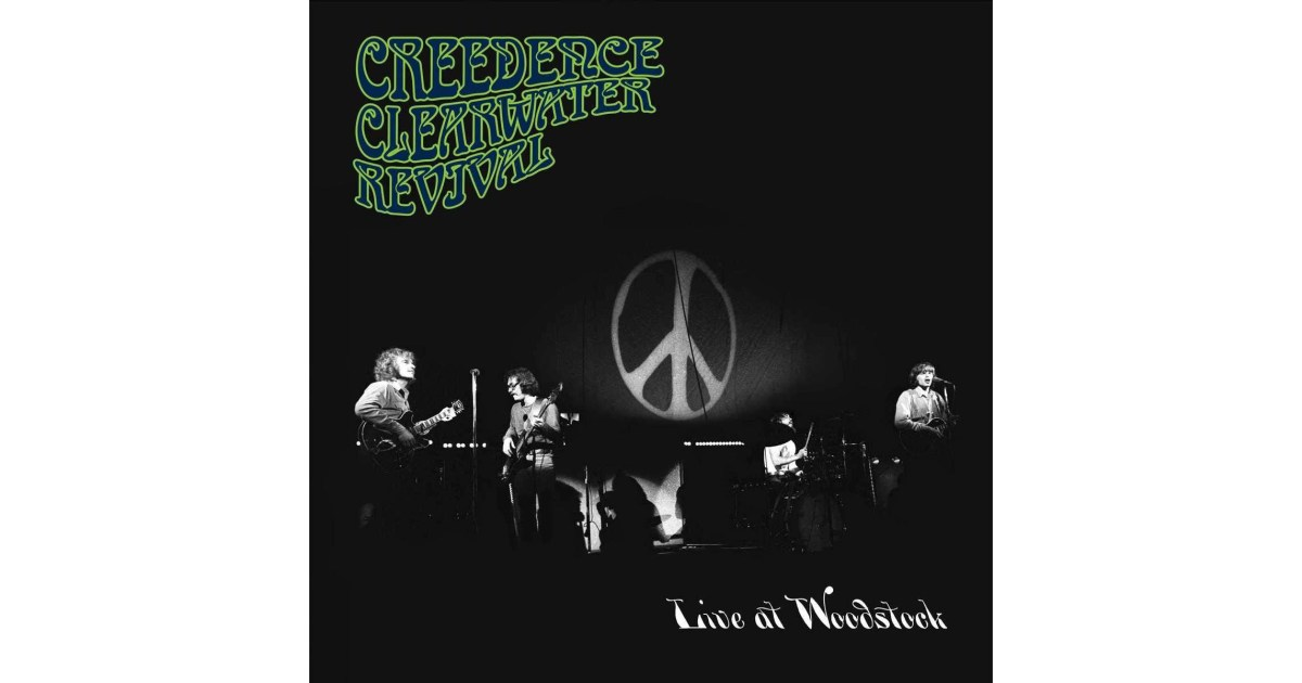 "Creedence Clearwater Revival Releases ""Live at Woodstock"" – No Treble"