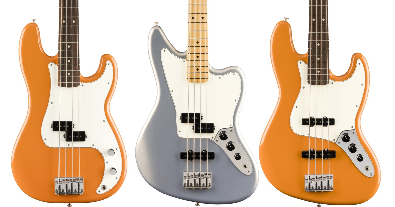 Fender Player Series Basses