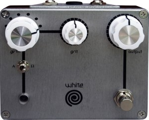 Spiral Electric FX White Spiral Boost Pedal