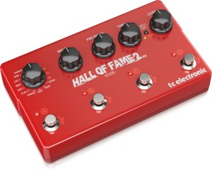 TC Electronic Hall of Fame 2x4 Reverb Pedal