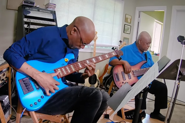 Bass Talk: Abraham Laboriel & Pee Wee Hill – The Sequel