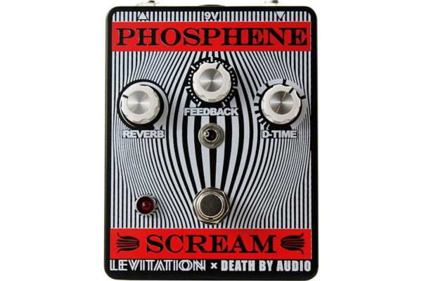 Death By Audio Unveils the Phosphene Scream Delay and Reverb Pedal