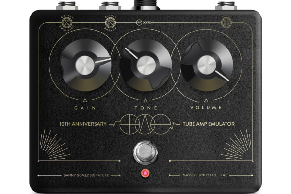 Massive Unity Announces the T.A.E. 10th Anniversary Preamp