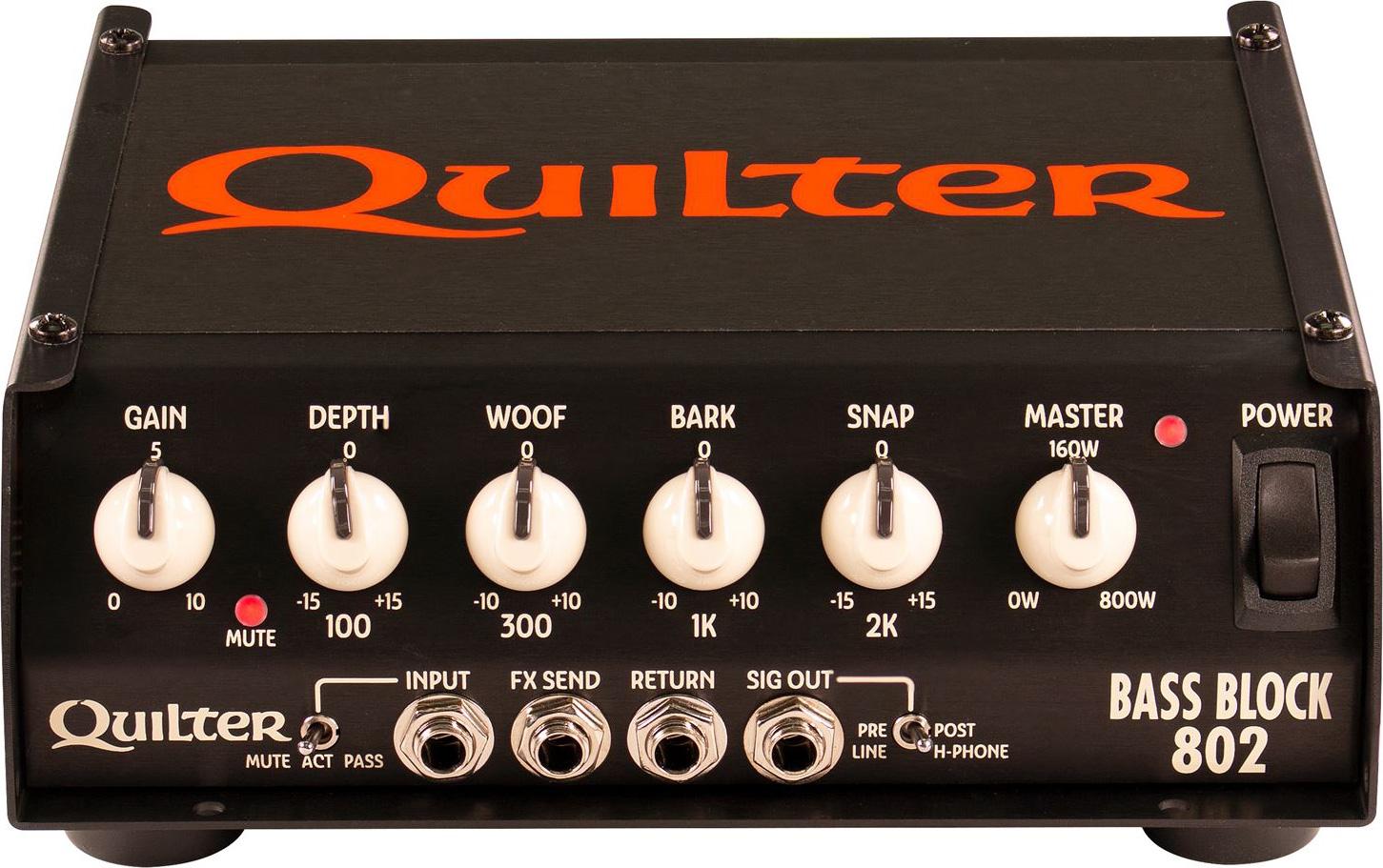 Quilter Bass Block 802 Amp