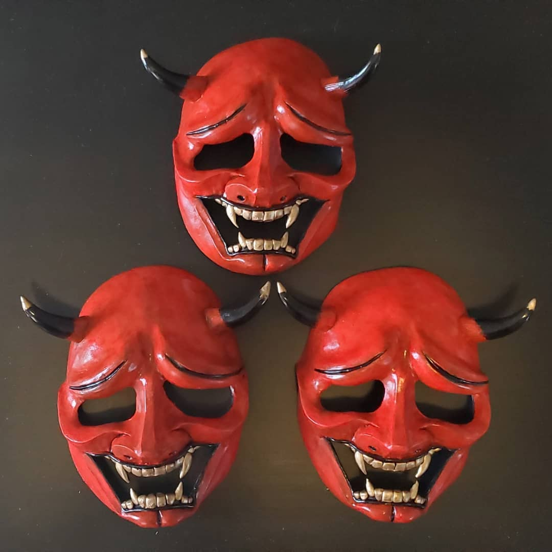 You Bred Raptors? Custom Masks