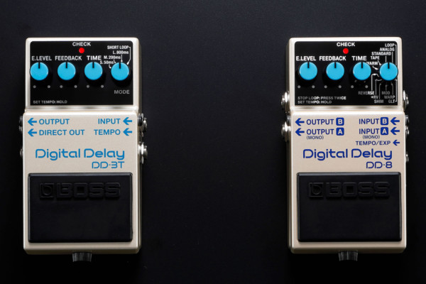Boss Announces DD-3T and DD-8 Delay Pedals