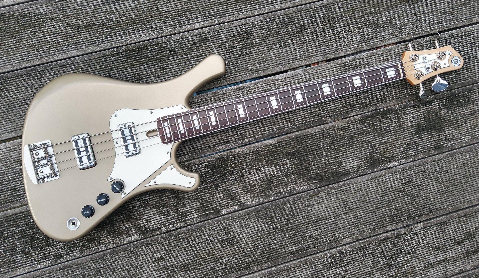 Paul Belgrado String Instruments NaNo Bass 4
