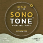 SonoTone Introduces Vintage Series Bass Strings