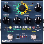 Source Audio Introduces the Collider Delay + Reverb Pedal