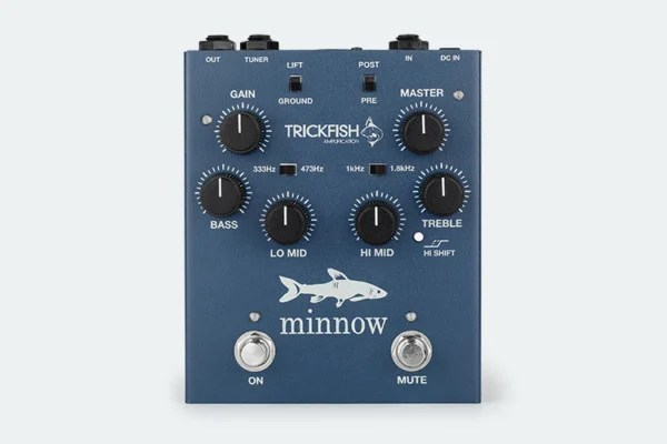 Trickfish Amplification Introduces the Minnow Bass Preamp Pedal